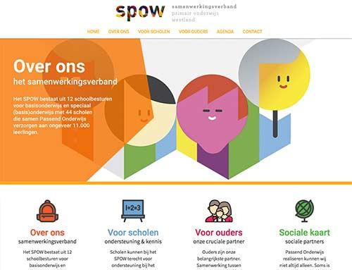 Nieuwe website spow.nl