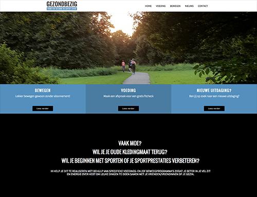 Website gezondbezig.nu