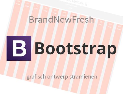 Voor grafisch ontwerpers: De BNF Bootstrap stramienen