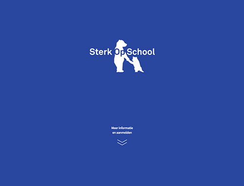 Website Sterk Op School Homepage