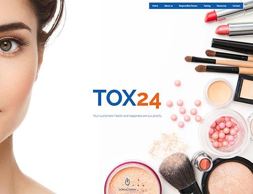 Nieuwe website voor Tox24