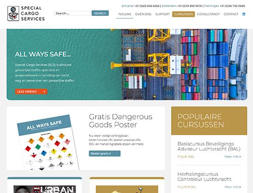 Nieuwe website voor SpecialCargo.nl