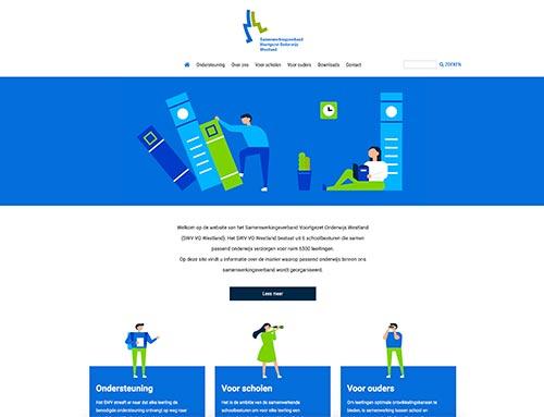 Nieuwe website voor SWV VO Westland