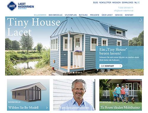 Nieuwe website voor Lacet Niederrhein