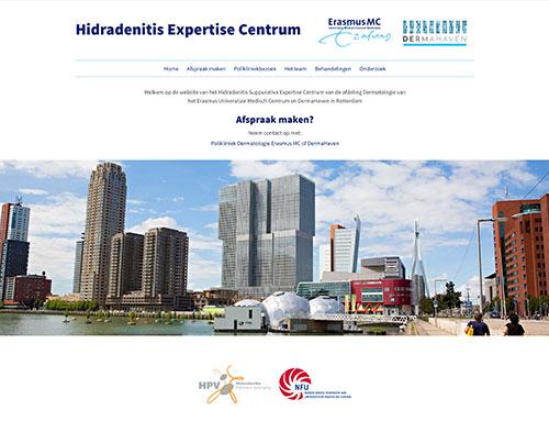 Nieuwe website voor Hidradenitis Expertise Centrum