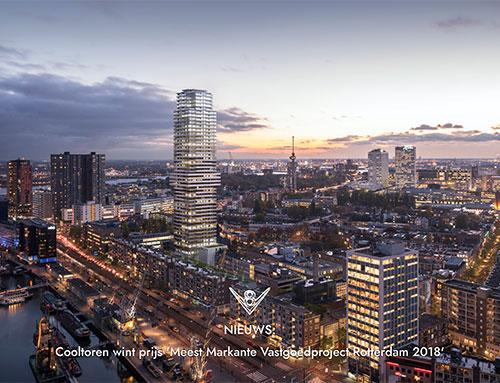 Nieuwe website voor V8 Architects
