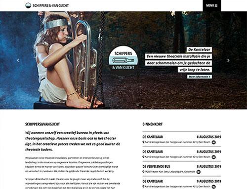 Nieuwe website voor Schippers & Van Gucht