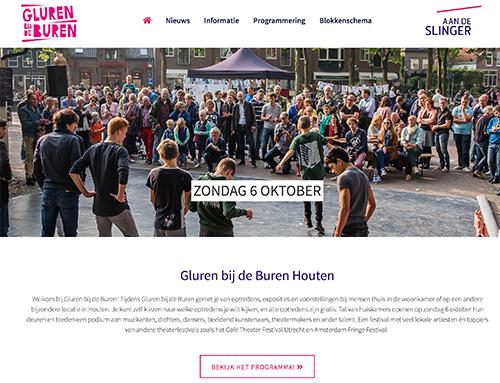 Gemaakt met het BNF Festival Template: Gluren bij de Buren Houten