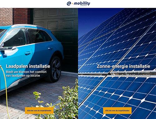 Nieuwe website voor e-mobilityenergy.nl
