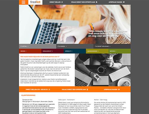 Nieuwe website voor fredict