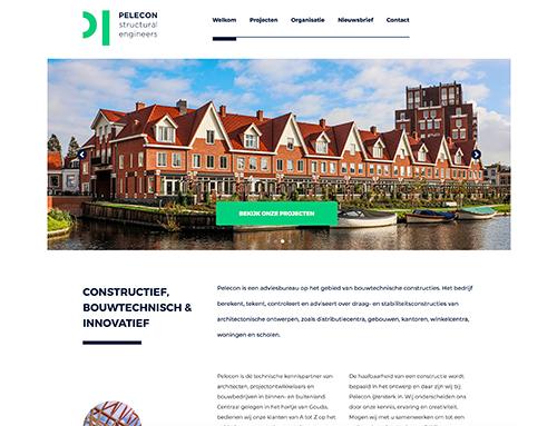 Nieuwe website voor Pelecon