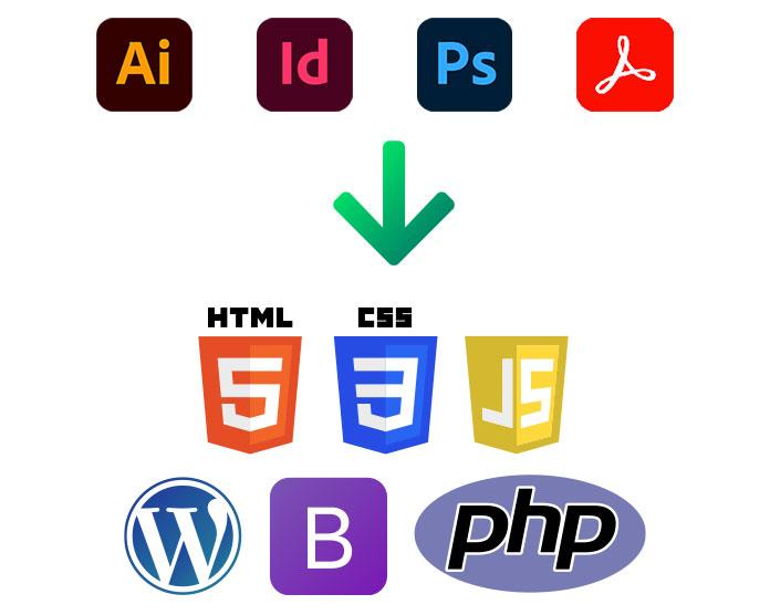 BrandNewFresh Graphic Design Conversion